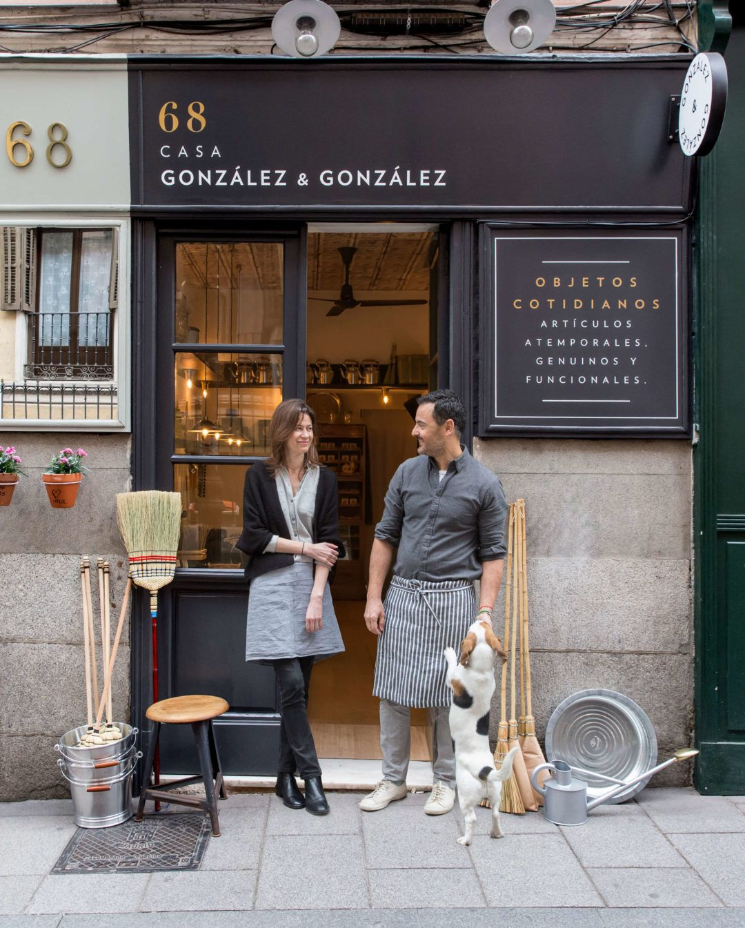 Maria Rosa And Javier Shopkeepers At Casa Gonzalez Gonzalez Coffee Shop Cafe Design Mini Cafe