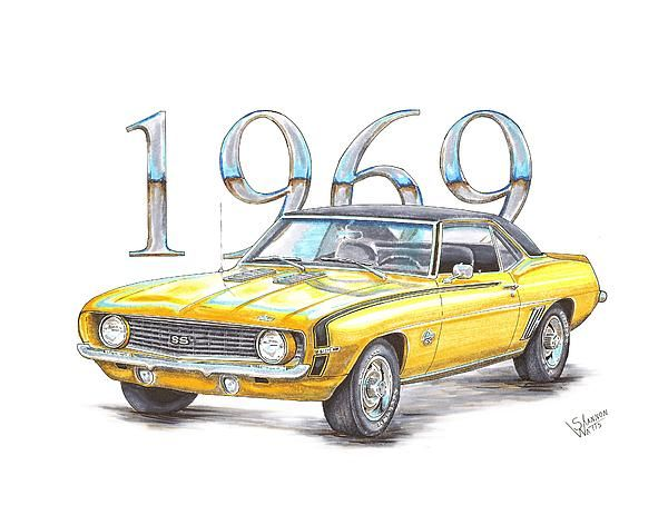 1969 Chevrolet Camaro Super Sport By Shannon Watts Camaro Super