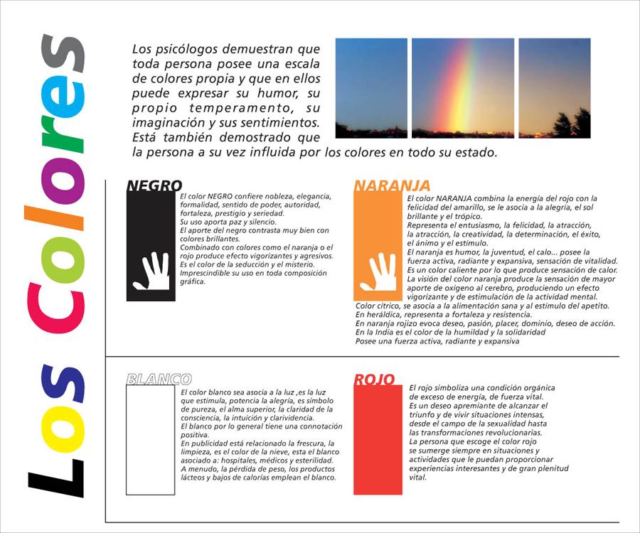 significado de los colores parte 1 #color #imagenes | los colores