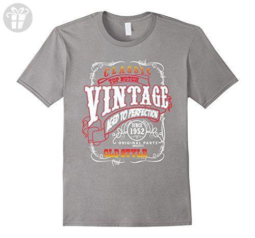 Men's Classic Vintage 1952 - Funny 65th Birthday T shirt for Men XL Slate - Birthday shirts (*Amazon Partner-Link)