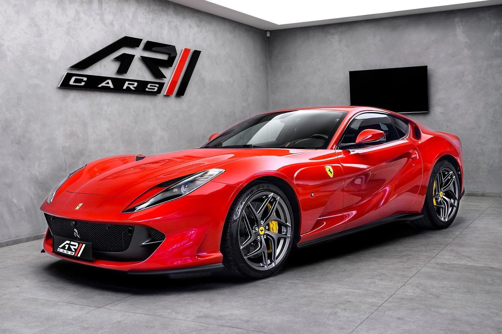 Ferrari 812 Superfast Luxury Pulse Cars Czechia For Sale On Luxurypulse In 2020 Super Cars Ferrari Ferrari Car