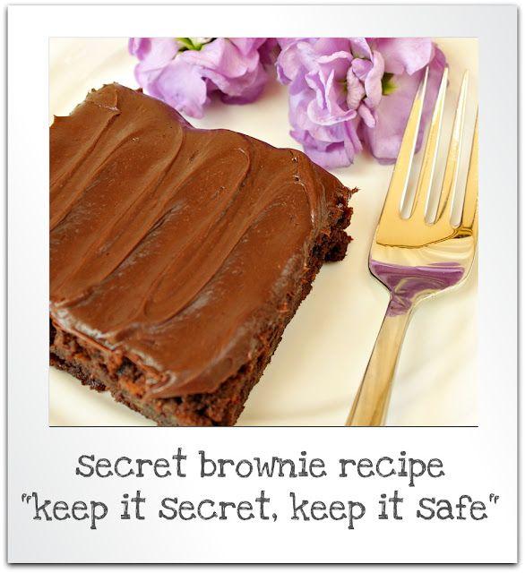 brownies with a secret ingredient
