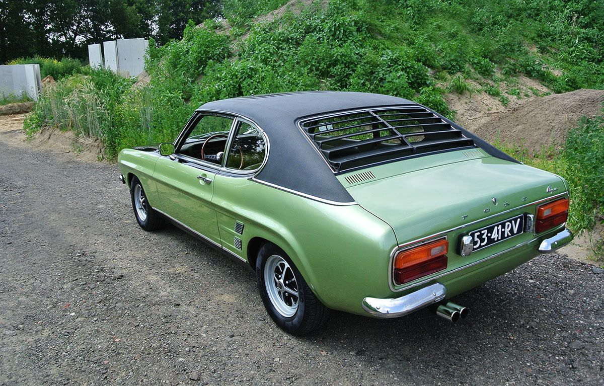 Ford Capri With Euro Only V6 Makes Us Long For Summer With Images