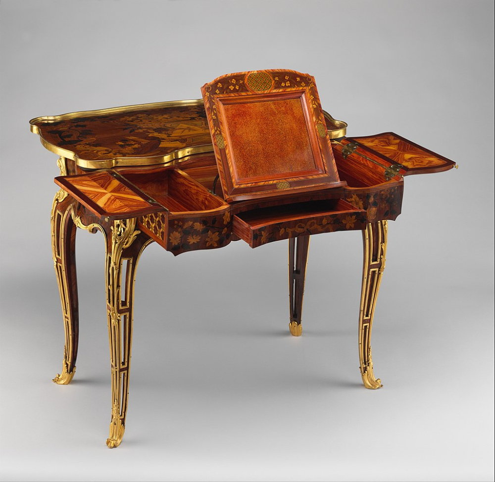 Mechanical Table Met Dp108860 Neoclassicism In France Wikipedia In 2020 Furniture Styles Classic Furniture Antiques