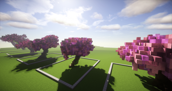 Cherry Blossom Trees Minecraft Projects Minecraft Designs Cherry Blossom Tree
