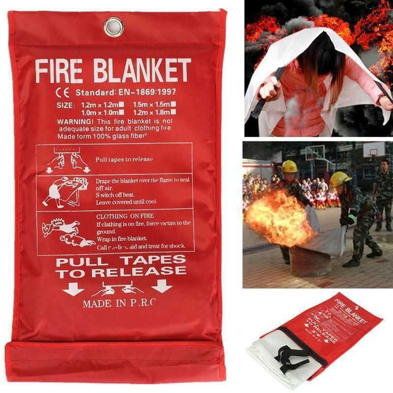 Fire EmergencyBlanket Safety cover, Fire extinguisher
