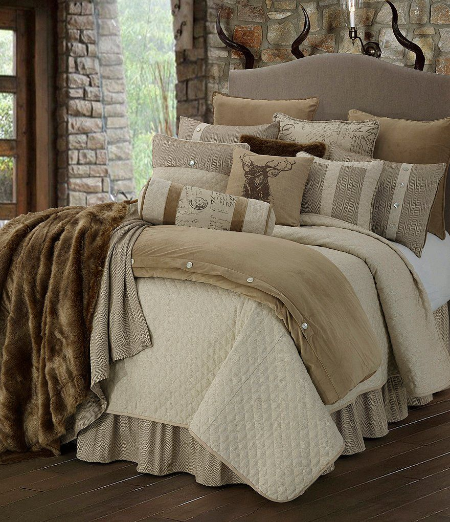 Hiend Accents Fairfield Coverlet Set Dillard S Rustic Bedding Sets Lodge Bedding Luxurious Bedrooms