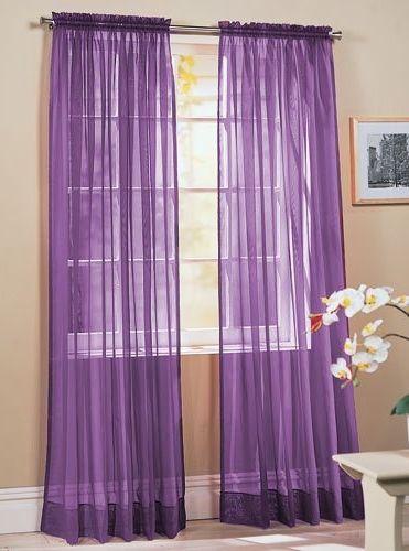 Purple Punch Window Coverings Dekorasyon