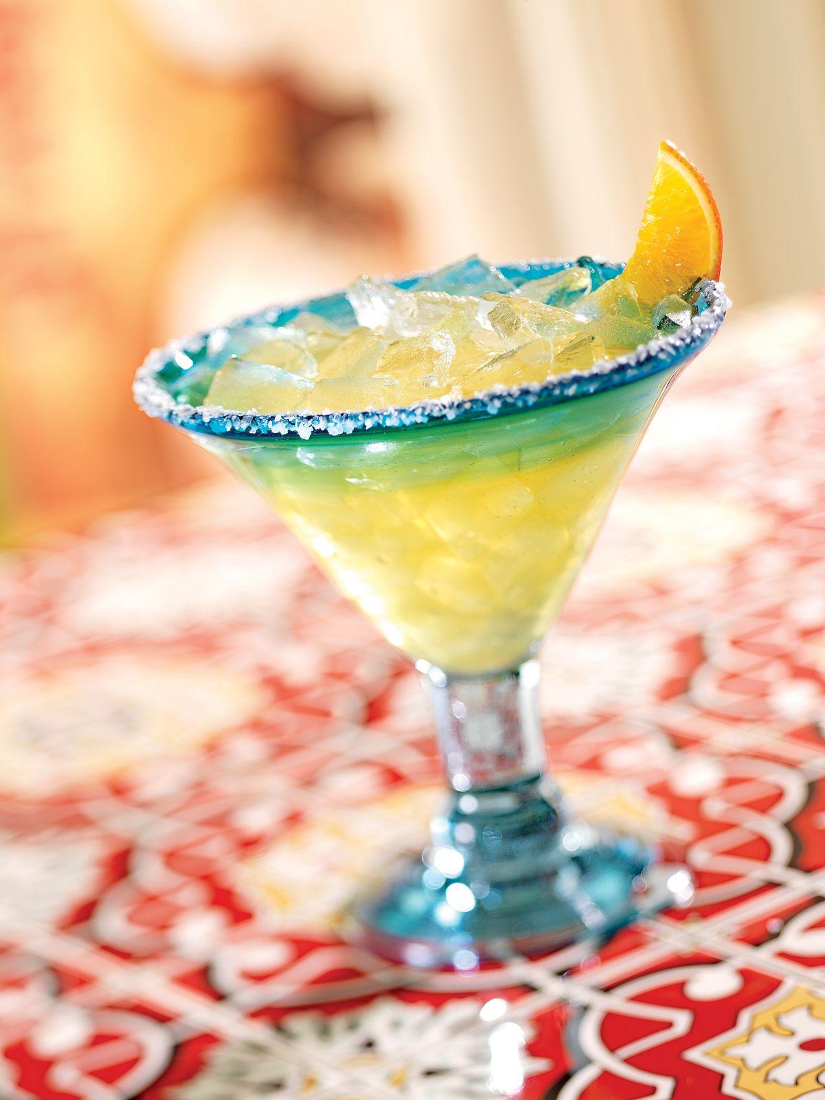 El Nino Margarita: Herradura Reposado Tequila 100% Blue Agave, Gran Gala, Patron Citronge Premium Orange Liqeur and orange juice.