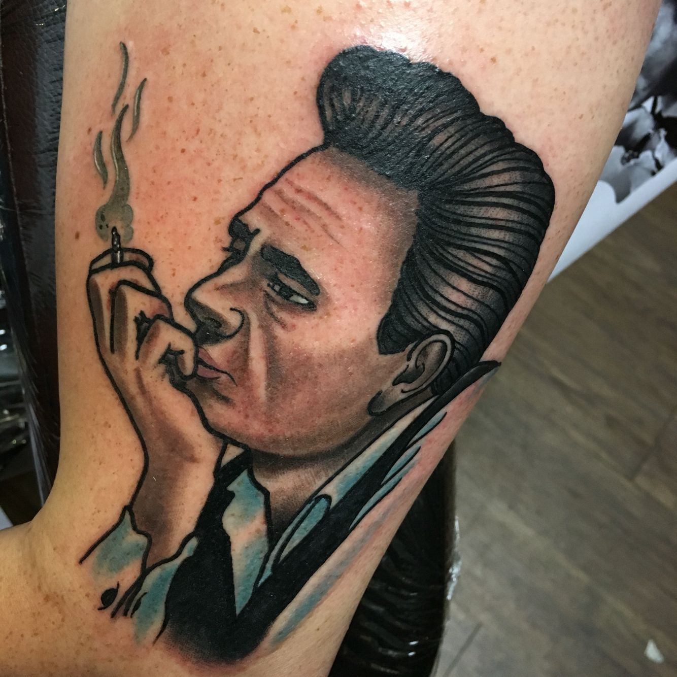 Johnny Cash Tattoo Chris O Toole Out Of Depiction Tattoo Gallery