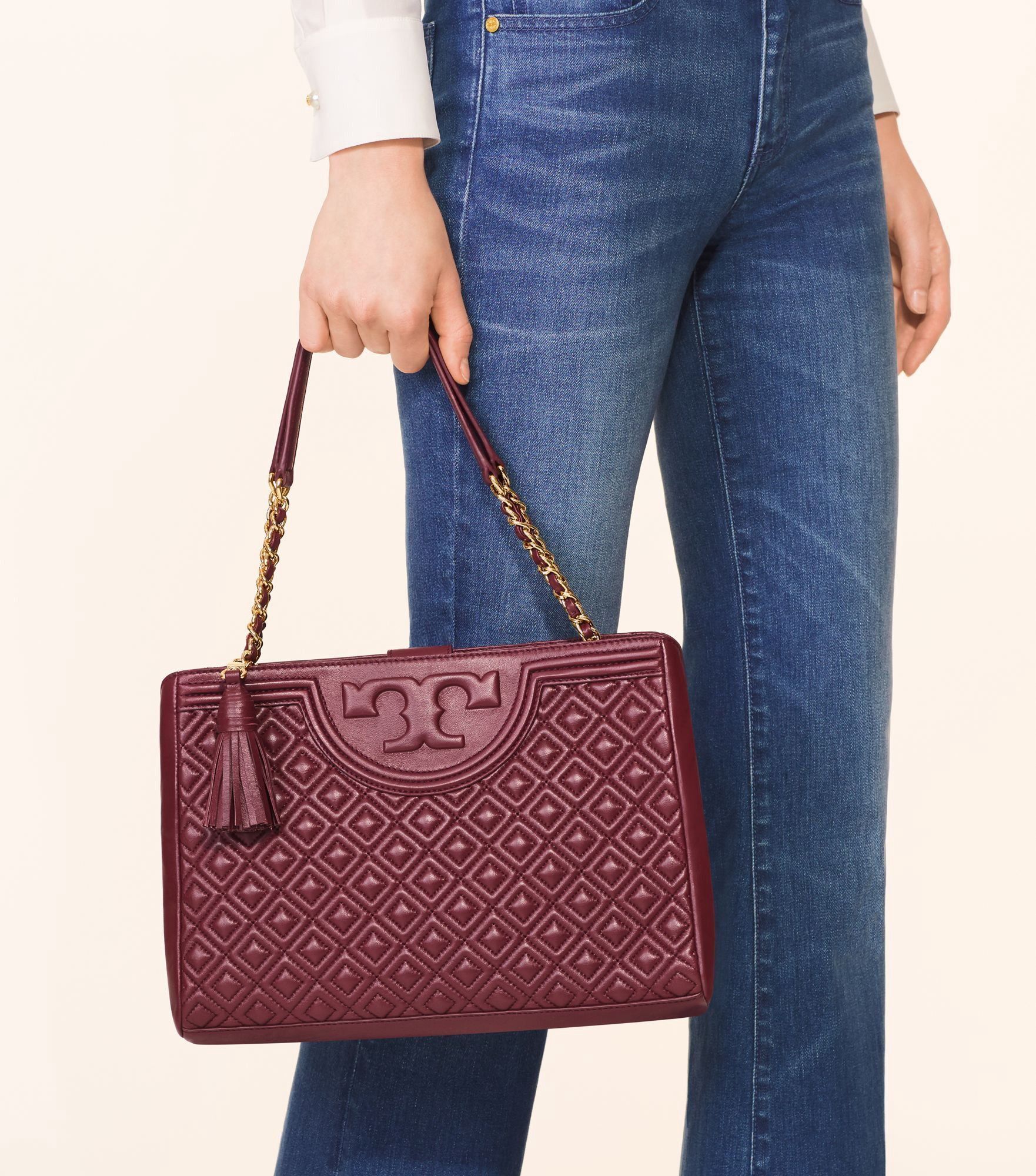be4844eeac8d TORY BURCH FLEMING OPEN SHOULDER BAG.  toryburch  bags  shoulder bags   leather