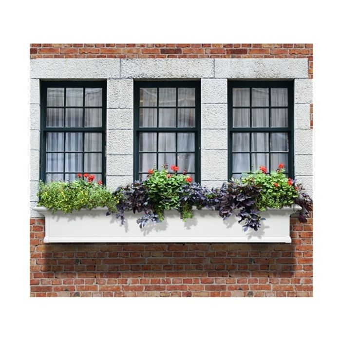 Exterior Solutions 72 W X 12 D X 10 H Yorkshire Window Box Window Planter Boxes Yorkshire Window Box Window Planters