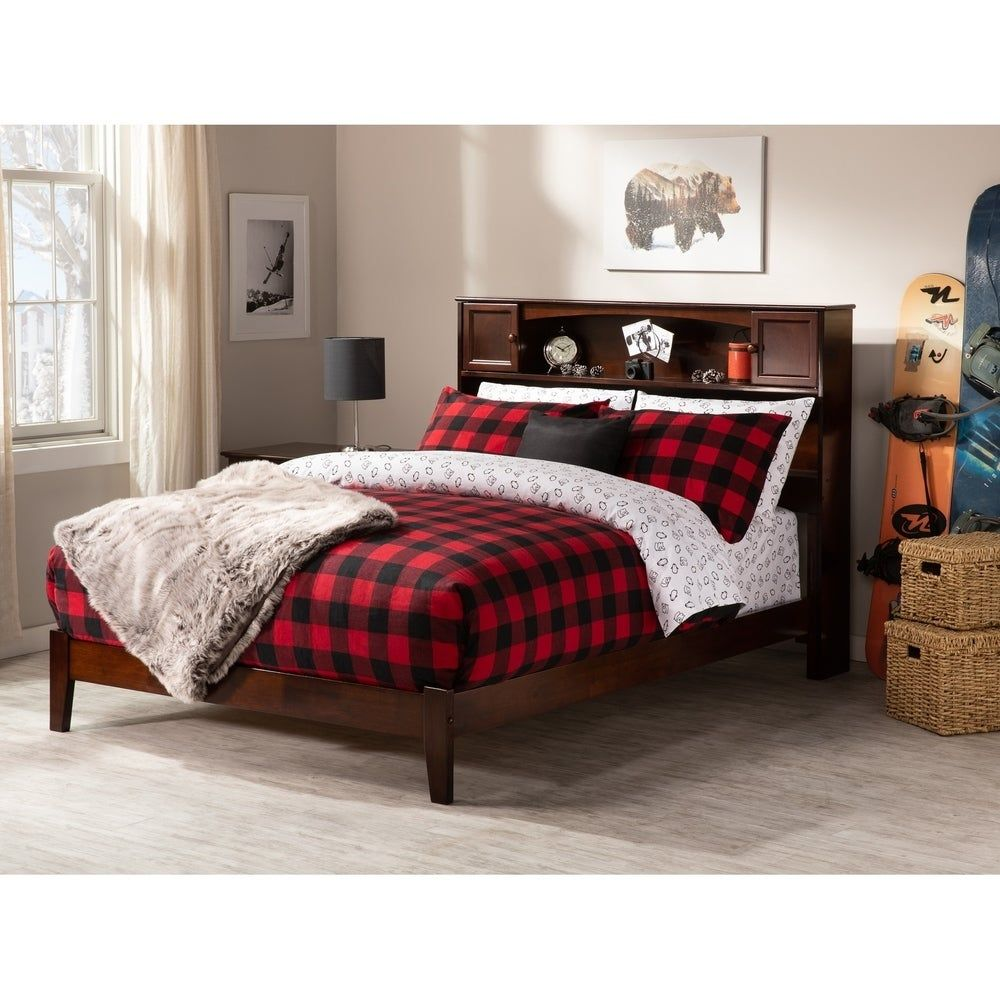 Photo of Newport Full Traditional Bed (White), Atlantic Furniture