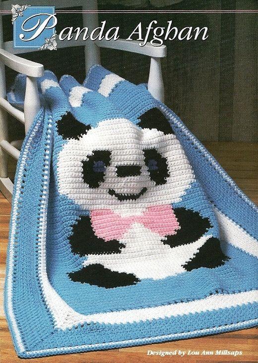 Babydecke Panda | Babykleider | Pinterest | Jade, Muster und Babydecken