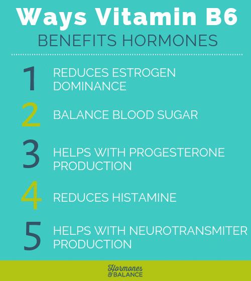 5 Ways Vitamin B6 Benefits Hormones B6 Vitamin Benefits Benefits Of Vitamin A Hormones