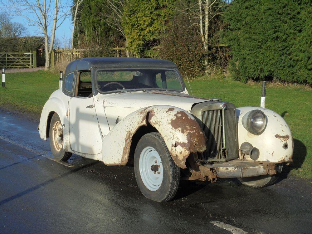 eBay: BARN FIND 1948 TRIUMPH ROADSTER 20TR TRA 1296 ~ with RARE ...