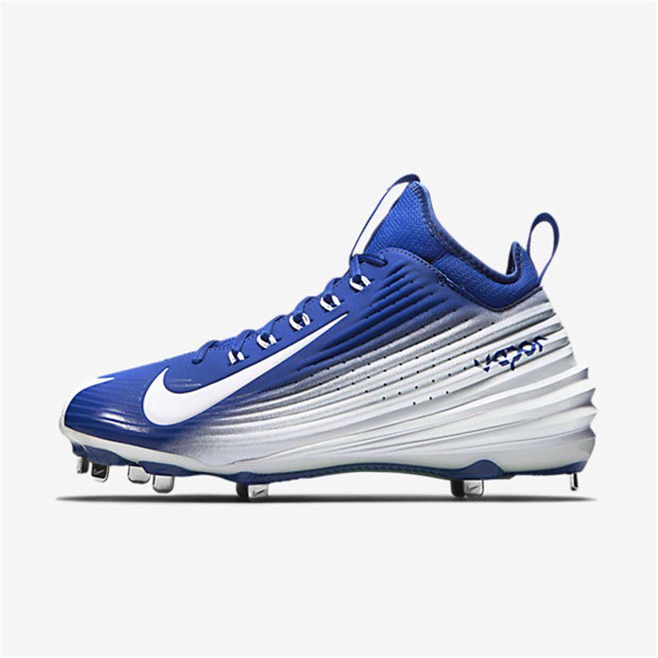 Nike Lunar Vapor Trout (Rush Blue / Volt / White). Baseball CleatsTroutNike  LunarNike MenClearance ...