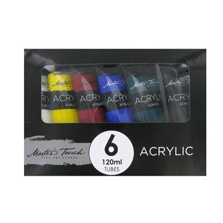 Master S Touch 6 Color Acrylic Paint Set Acrylic Paint Set