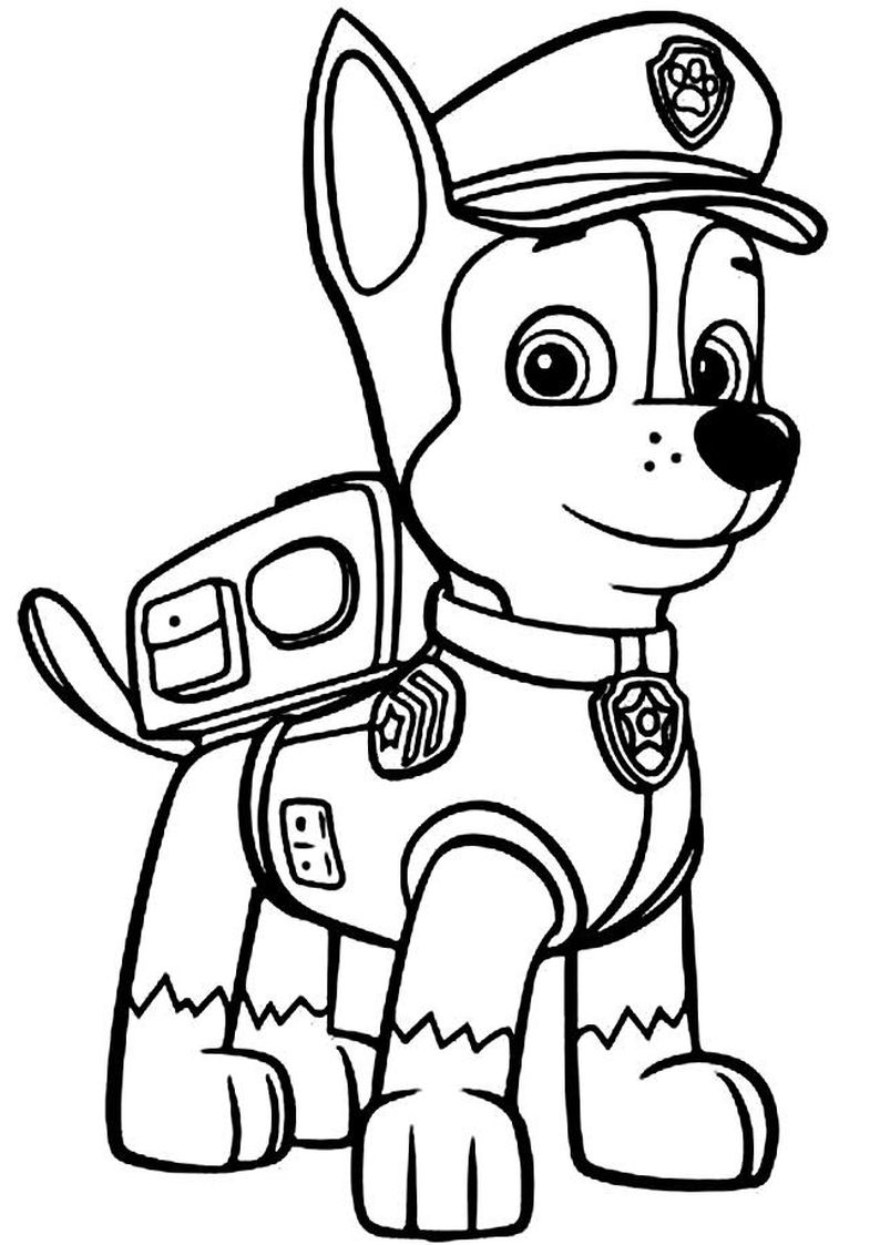 Marshall Psi Patrol Kolorowanki Do Wydruku Auto Electrical Wiring