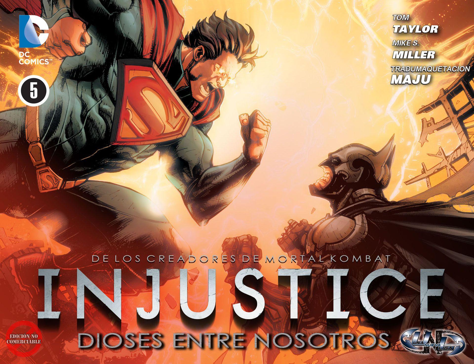 Superman vs Batman - Injustice - Gods among us
