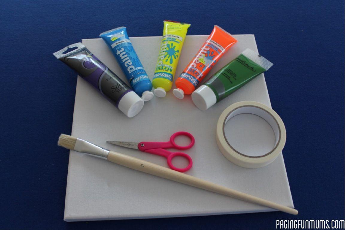 Tape canvas