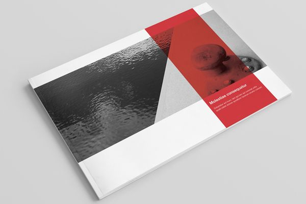 Landscape Brochure / Booklet / Catalog Mock-Up By Zeisla , Via