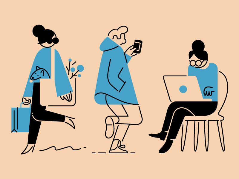 Beautiful Simple Illustration Ideas On Pinterest People - Funny illustrations show the love hate relationship between designers