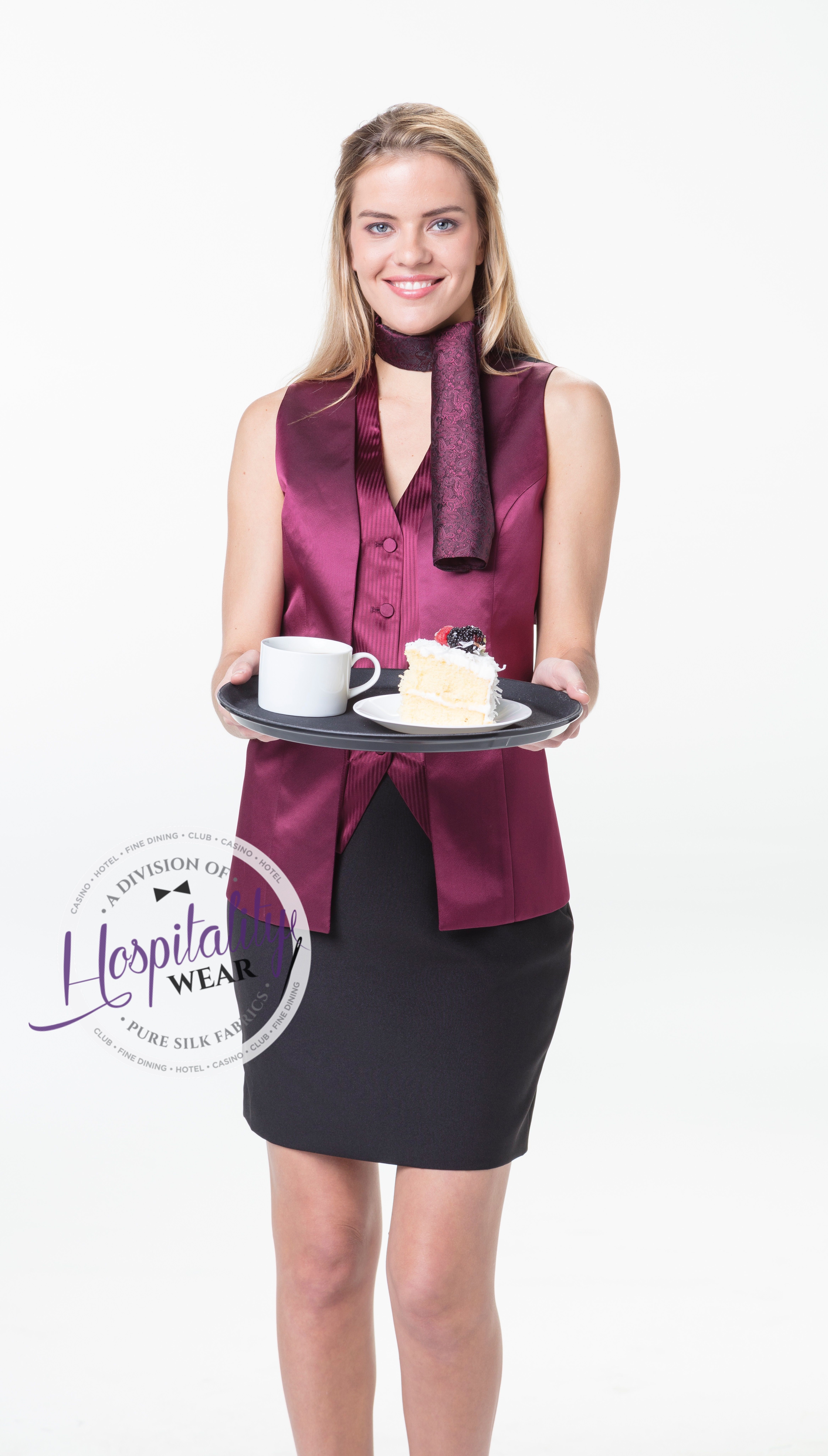 a5aced712701a Maggie-BST5018 this vest is a great look for any and all high end  establishments, Its flattering and sophisticated at the same time.