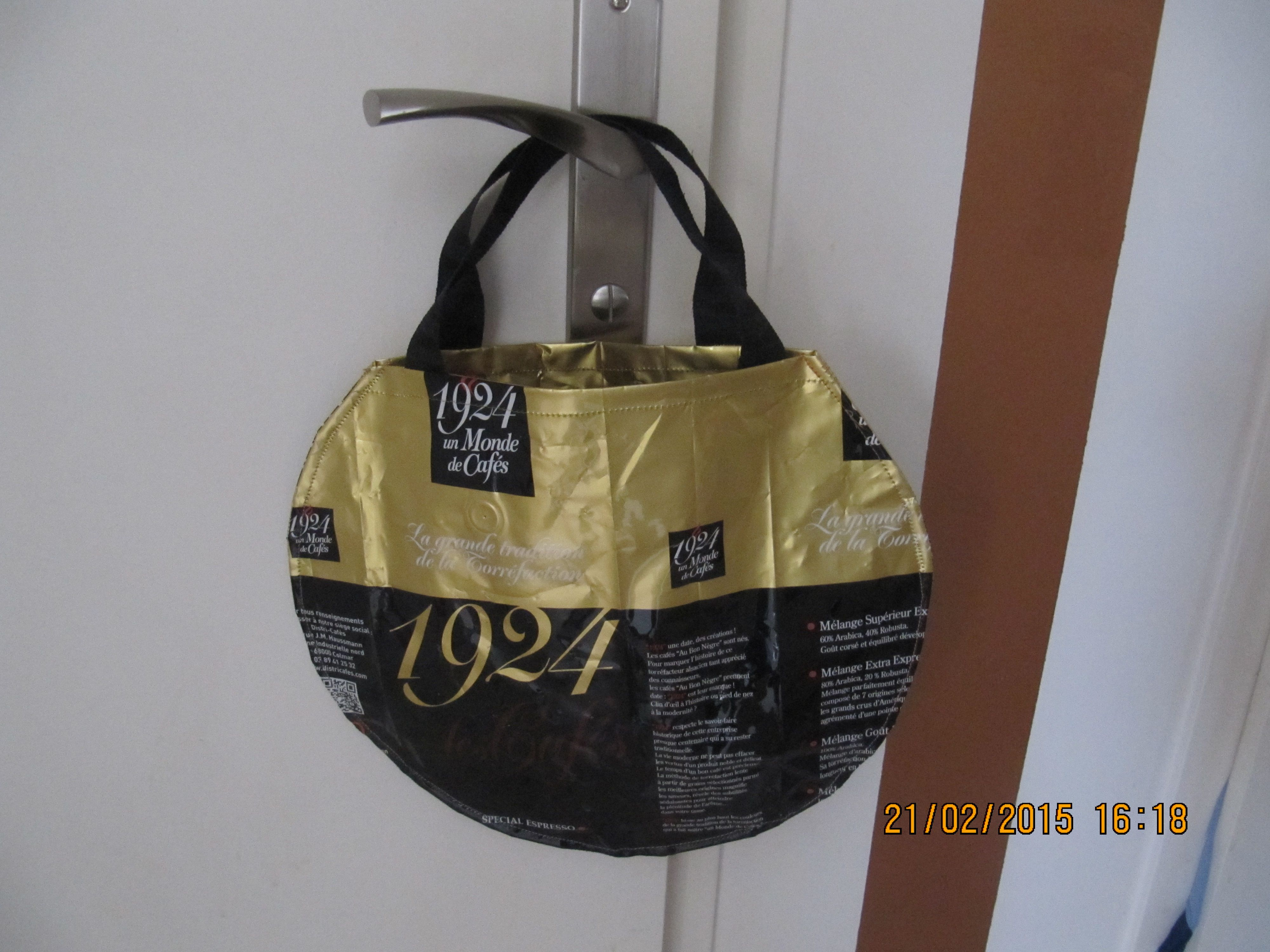 Recyclage Sac Cafe Recyclage Tissus Et Récup 39 Sac - Sac Emballage