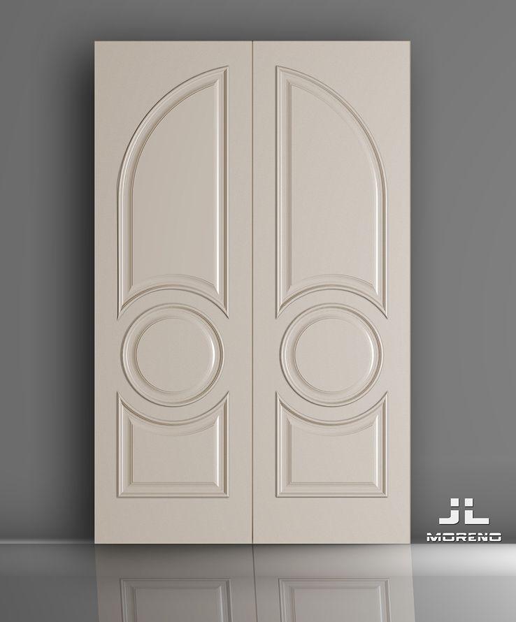 G 3 D Ap Pr Wooden Glass Door