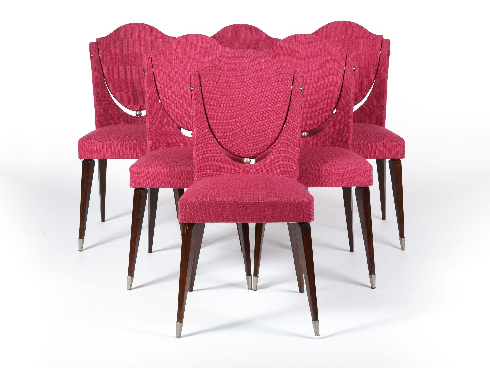 Sedie Stoffa ~ Sedie in tessuto francesi anni collezione sedute