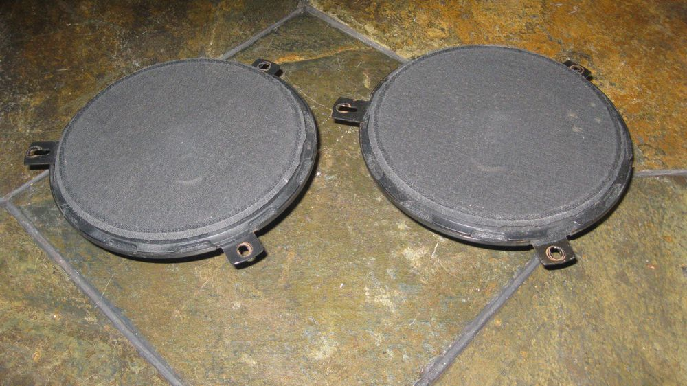 1999 2004 Jeep Grand Cherokee Factory Door 6 5 Pair Speakers Oem Infinity Jeep Grand Cherokee