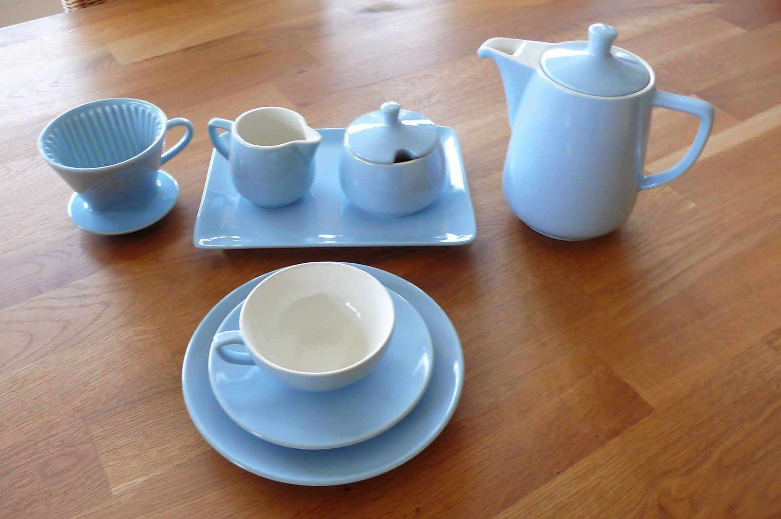 melitta minden gedeck kaffeekanne filter milchgie er marmeladendosevorlegeplatte ebay. Black Bedroom Furniture Sets. Home Design Ideas