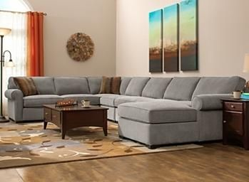 Chenille Sectional Sofa | Sectional Sofas | Raymour And Flanigan Furniture