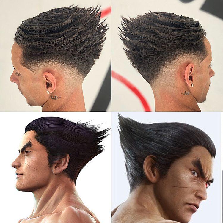 Inspirado En Mi Infancia Tekken Kazuyamishima Mi Estilo Nueva Escuela Mi Producto Favorito Gents Hair Style Mens Hairstyles Hair Styles