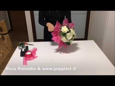 Wrapping roses with double cellophane and tissue paperwrapflowers wrapping roses with double cellophane and tissue paperwrapflowers youtube mightylinksfo