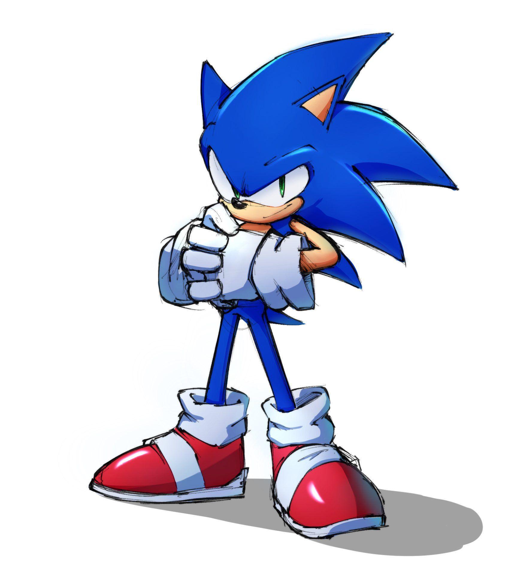 Demx On Sonic Sonic The Hedgehog Sonic Fan Art