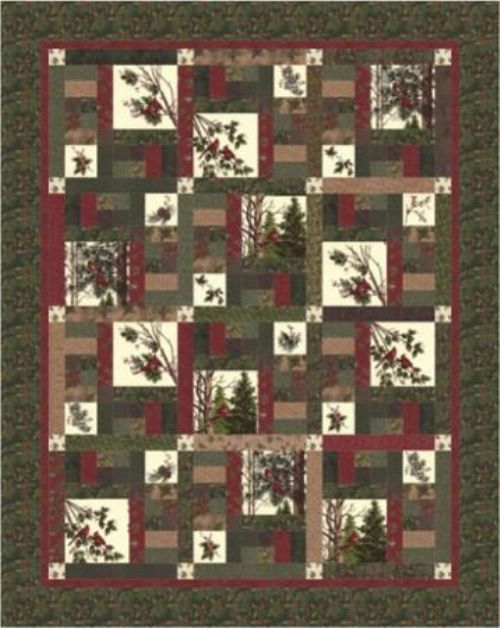 Winters Song Kit from Doug Leko from Antler Quilt Design.  Love the cardinals!