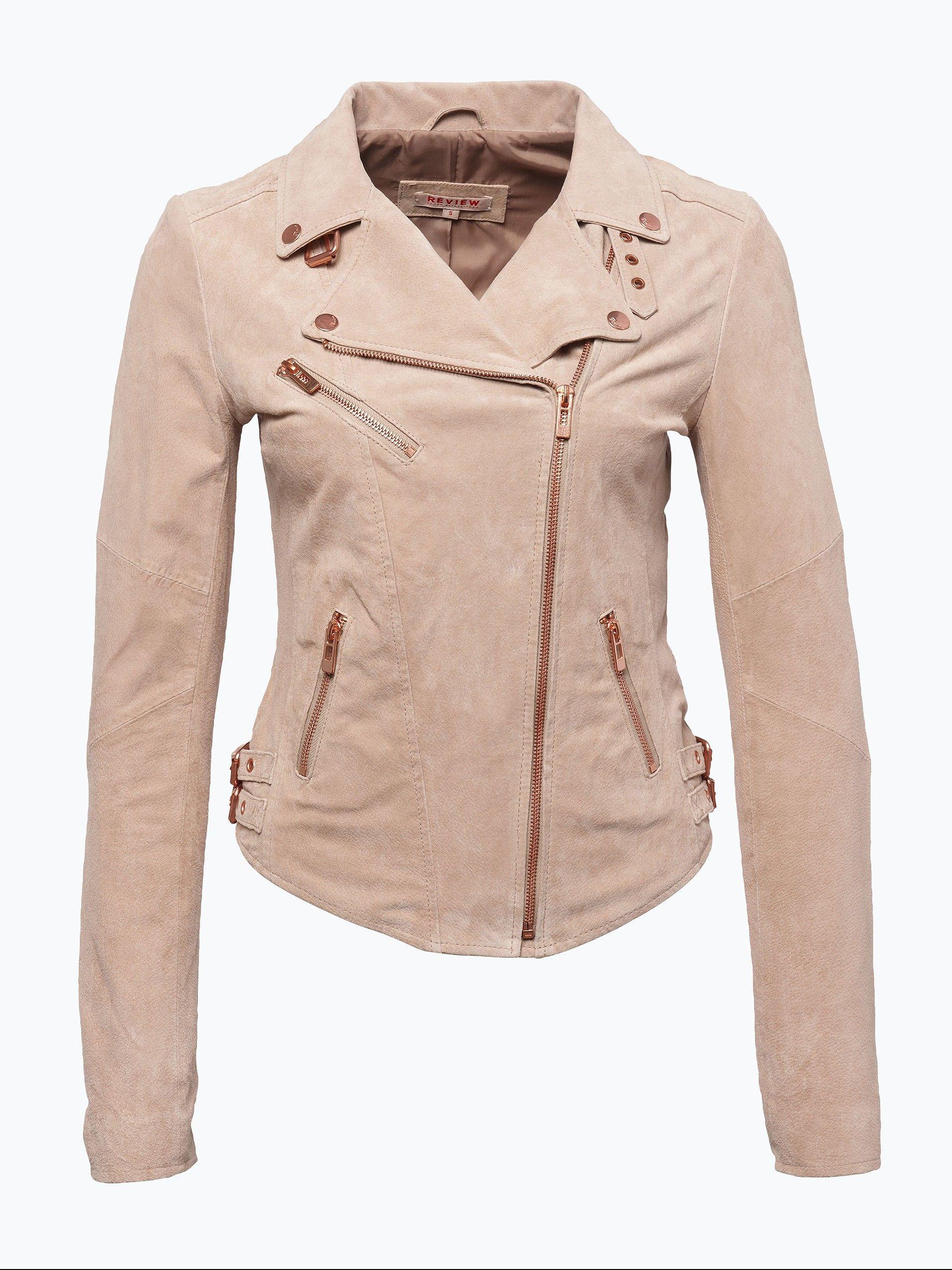 Damen Lederjacke Review (119,95 EURO) bei VAN GRAAF kaufen