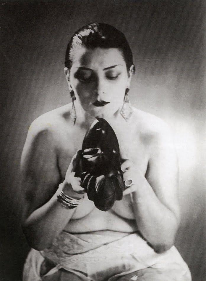 Alice Prin Kiki.Noire Et Blanche Man Ray 1926 Alice Prin Dite Kiki De