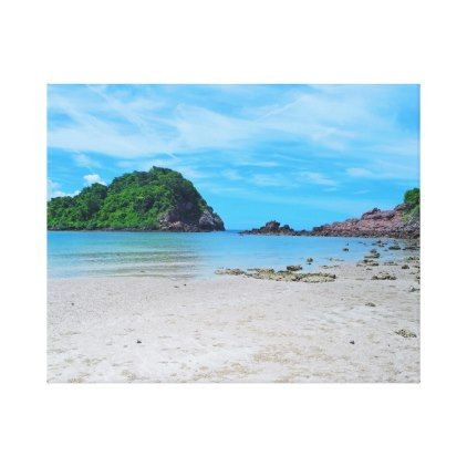 Tropical beach scene thailand canvas print beach scenes and tropical beach scene thailand canvas print voltagebd Images