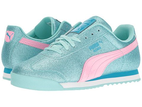 Puma Kids Roma Glitz Glamm Jr (Big Kid)  2427df797