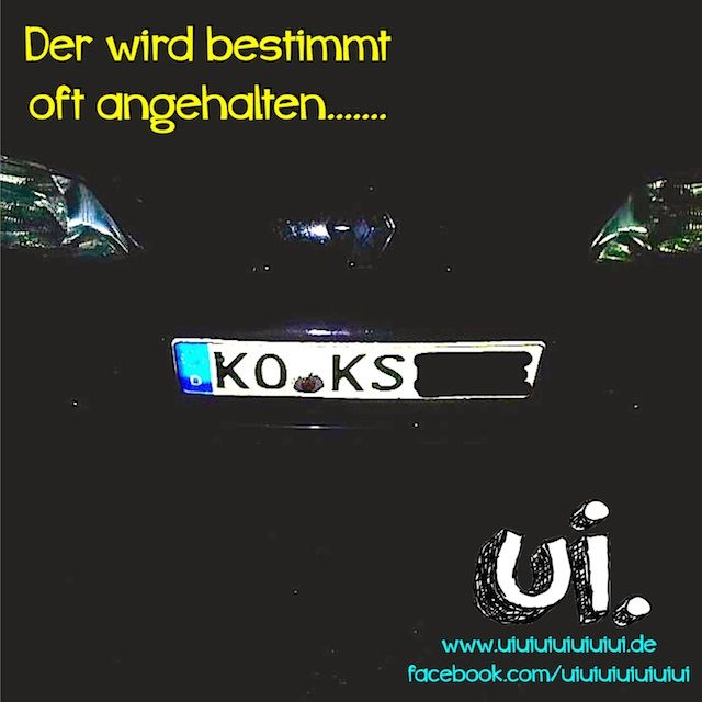Pin by Manuel Wolff on lustige Autokennzeichen Pinterest