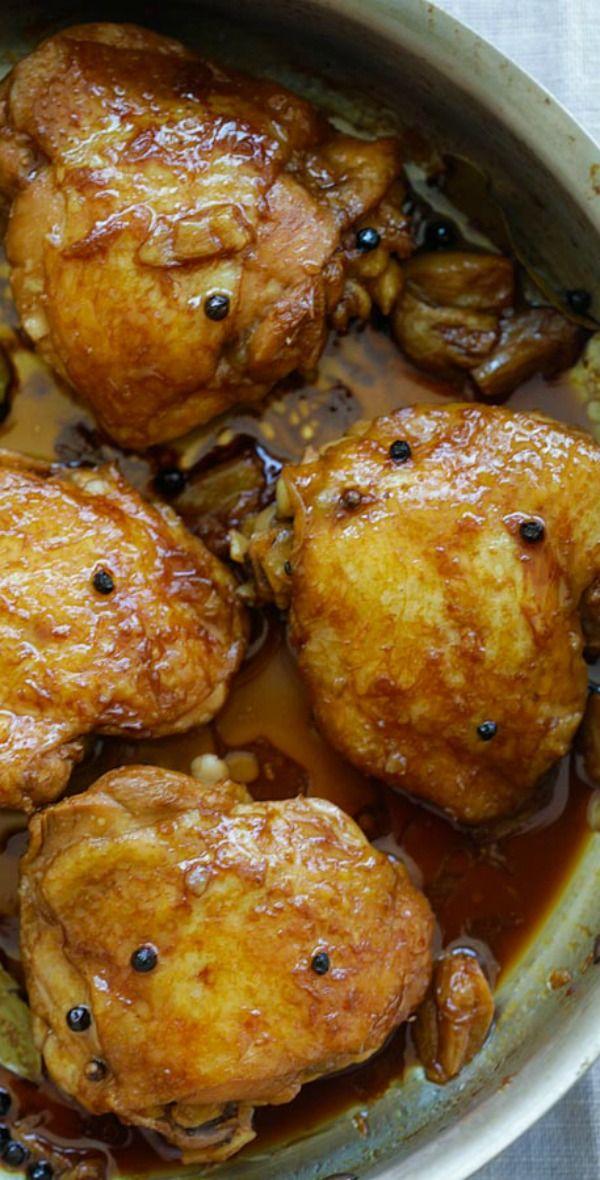 Chicken Adobo Crazy Delicious Filipino Chicken Adobo Recipe Made