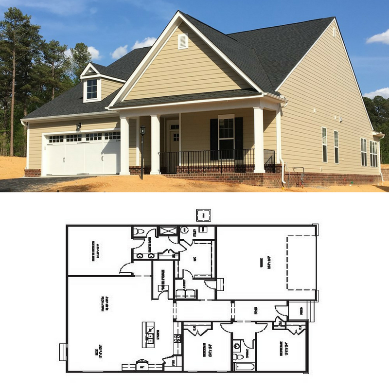 Enjoy One Level Living In Our Corvallis Floor Plan Has 3 Bedrooms 2  Bathrooms And 2,084 Sq. Ft. Of Living Space. This Home Features A Finished  Storage Space ...