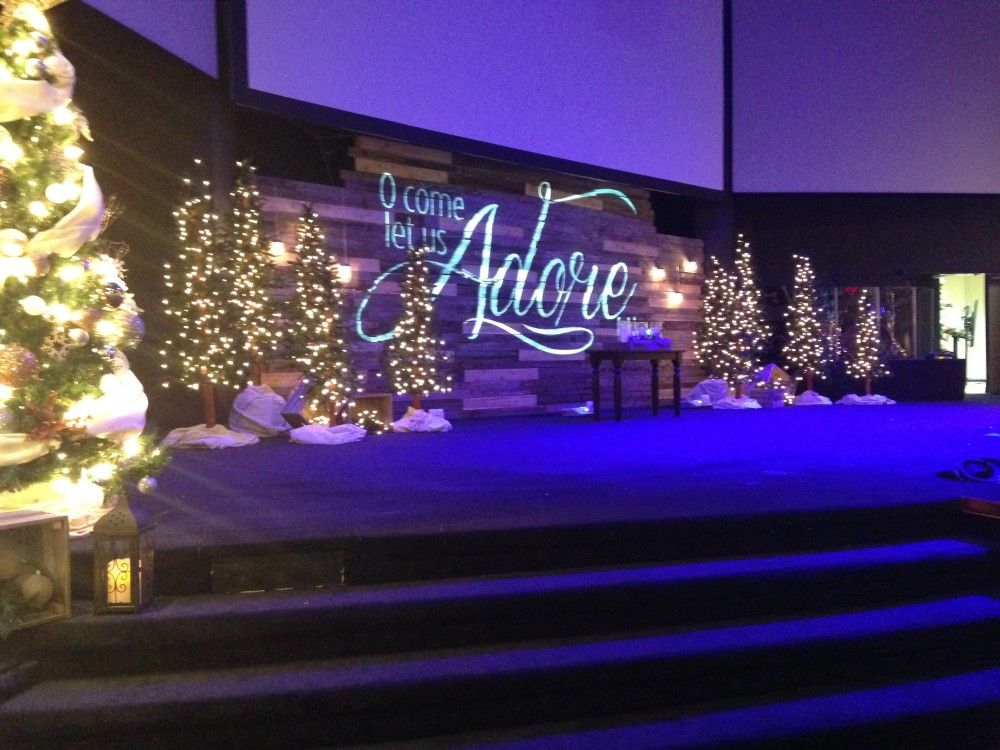 Christmas Stage Design