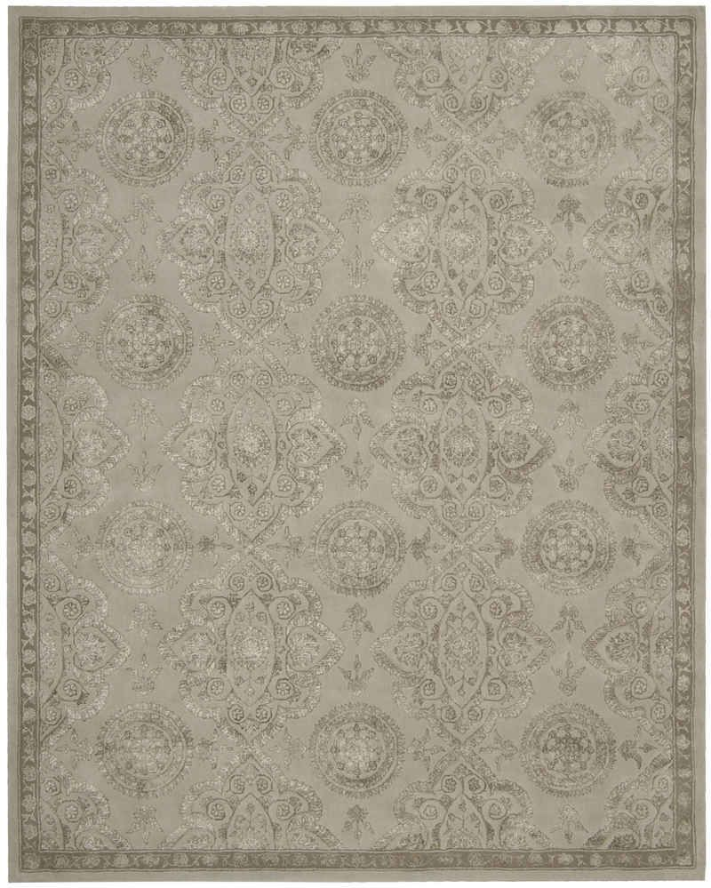 Bedroom Nourison Rugs Regal Reg06 Grey Grey 7 9 9 9 Area Rug