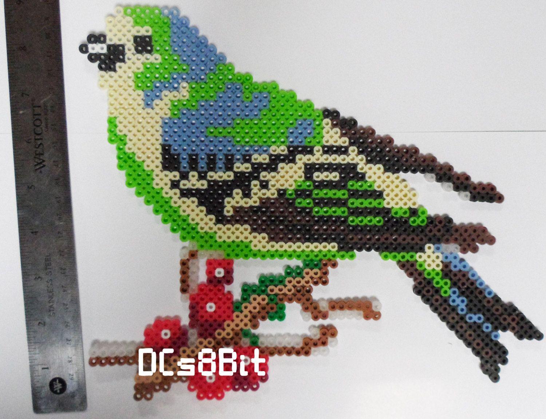 Bird perler beads by DCs8Bit