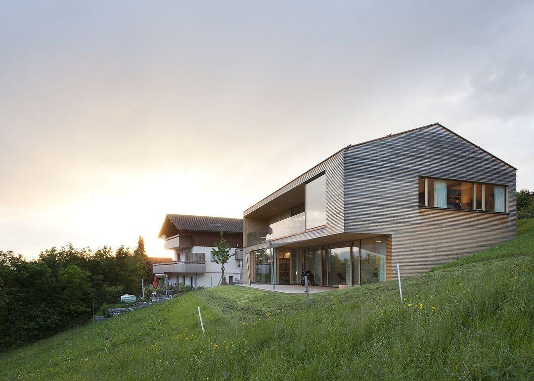 Haus B, Zwischenwasser, #Austria by Dietrich Untertrifaller ...