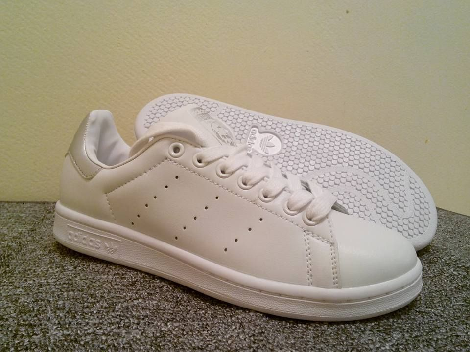 aliexpress wysoka jakość nieźle Adidas Stan Smith | White/grey | Women sizes 36,37,38,39,40 ...
